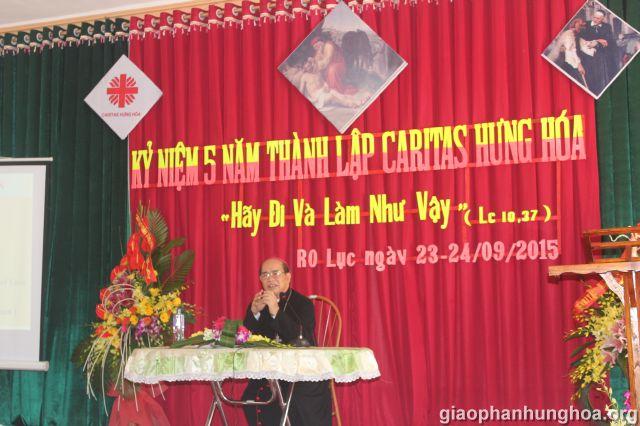 Đức cha Gioan Maria Vũ Tất - Giám mục Giáo phận Hưng Hóa chia sẻ
